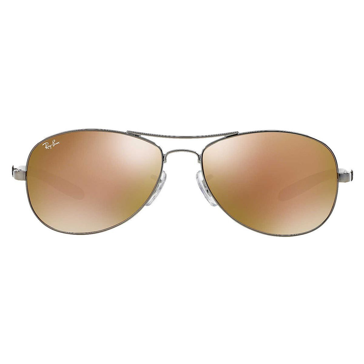 ec3b0052ec Shop Ray-Ban Tech Unisex RB 8301 004 N3 Shiny Gunmetal Carbon Fiber Cockpit  Sunglasses - Free Shipping Today - Overstock - 10430746
