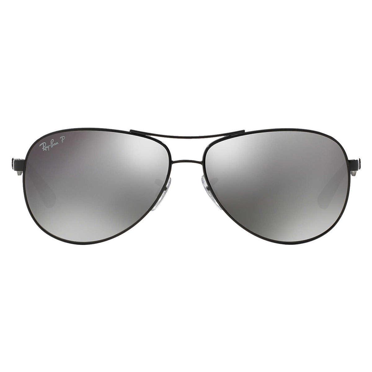 5d983f545d Shop Ray-Ban Unisex Tech RB 8313 002 K7 Shiny Black Carbon Fiber Aviator  Sunglasses - Free Shipping Today - Overstock - 10430807