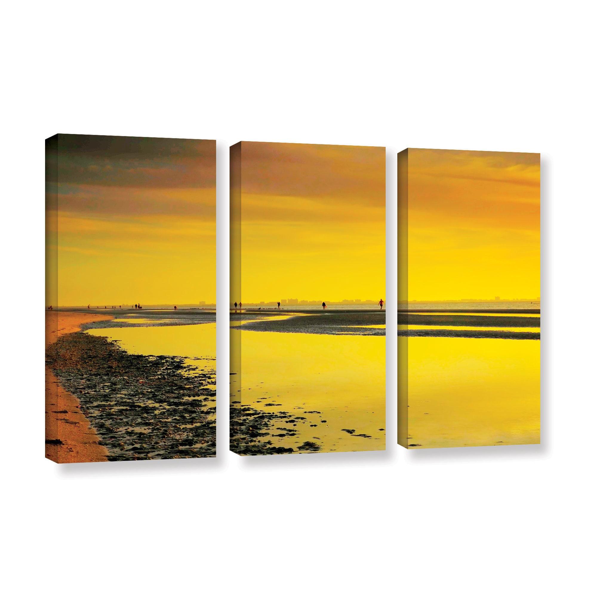 Shop ArtWall Steve Ainsworth \'Mellow Yellow Morning\' 3 Piece Gallery ...