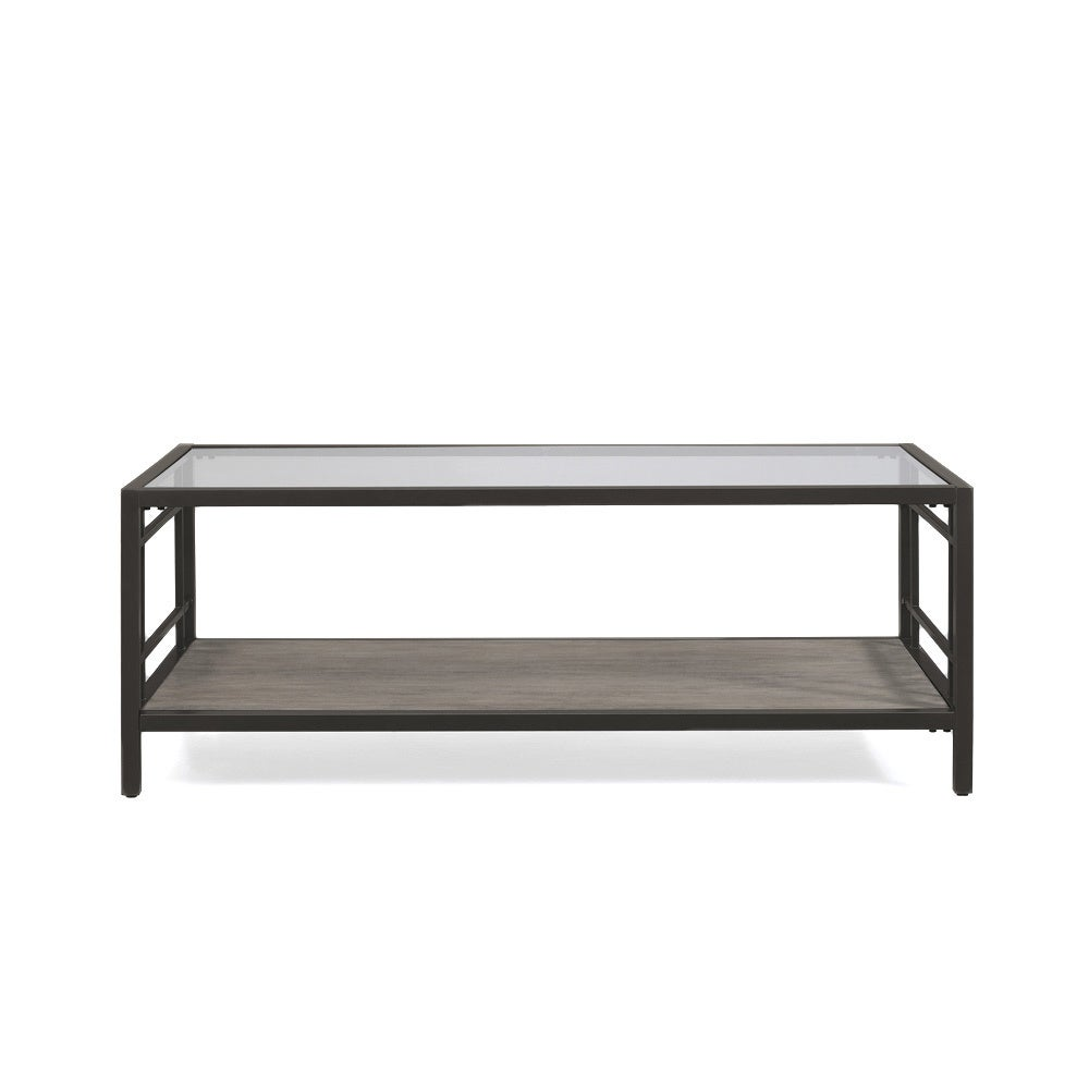 Copper Grove Alice Wood Gl Metal Coffee Table Free Shipping Today 10433217
