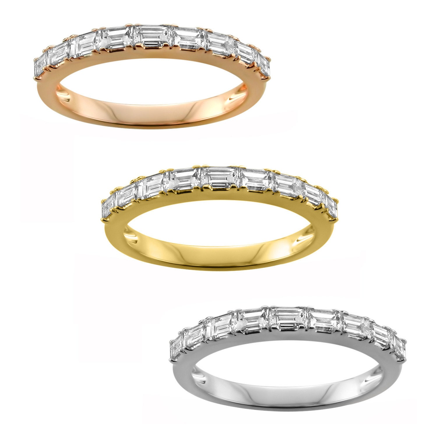 when wedding ring brilliant in and back diamonds deco the art harkening a band tapered set to or designs look engagement for bands sophisticated rings era earth platinum diamond sleek baguette make beautiful news