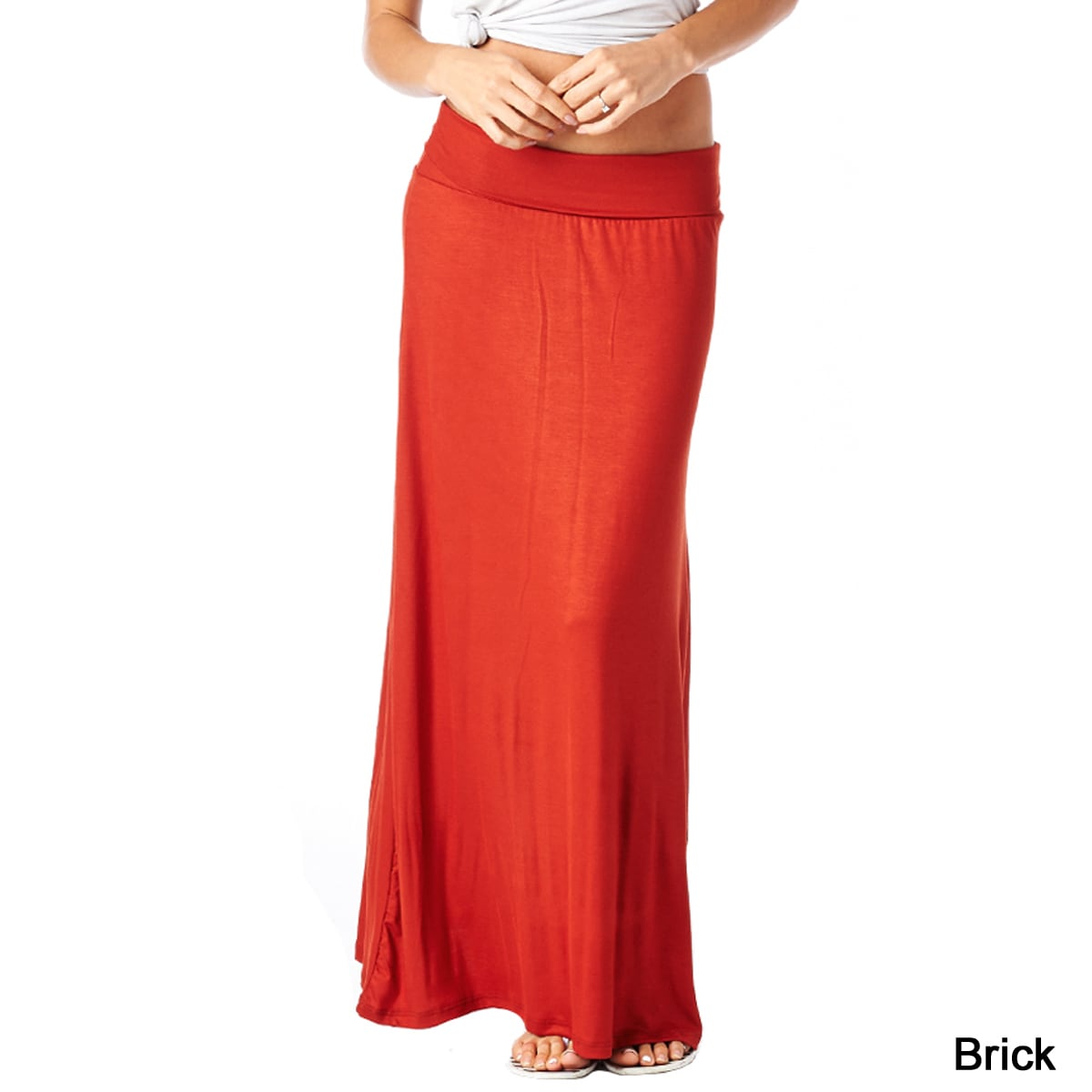 ea7dc7b2a0058 Shop Popana Women s Rayon Comfortable and Versatile Maxi Skirt - Free  Shipping On Orders Over  45 - Overstock - 10433914