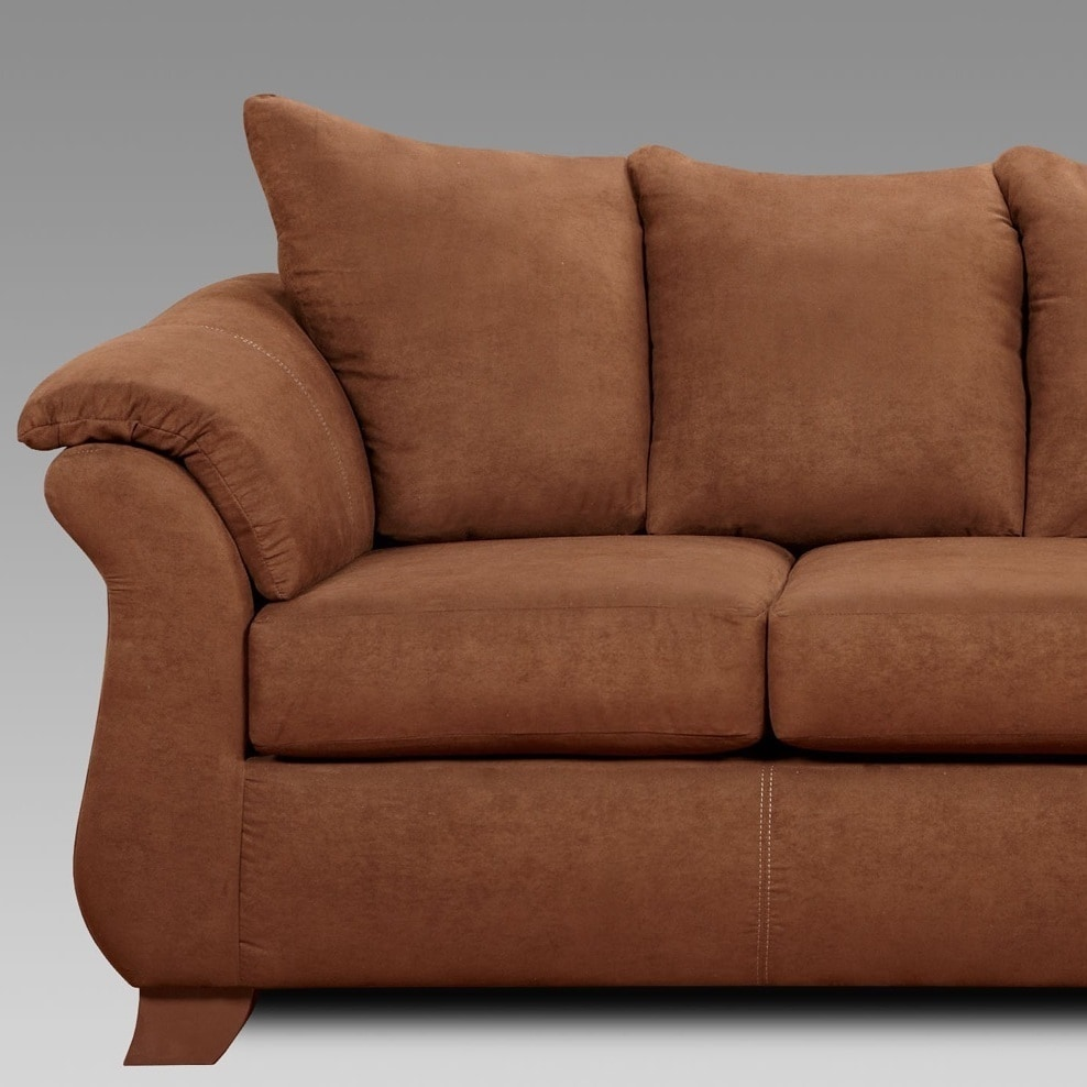 and sofa mache loveseat tan bauhaus microfiber interior couch washg fabric s upholstery mineral