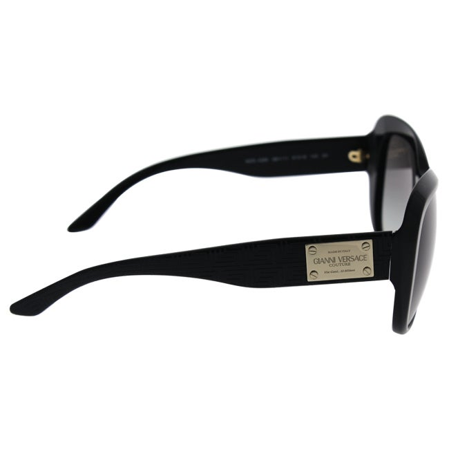 3046742e6f Shop Versace Women s VE4285 Plastic Butterfly Sunglasses - Black - Free  Shipping Today - Overstock - 10437883