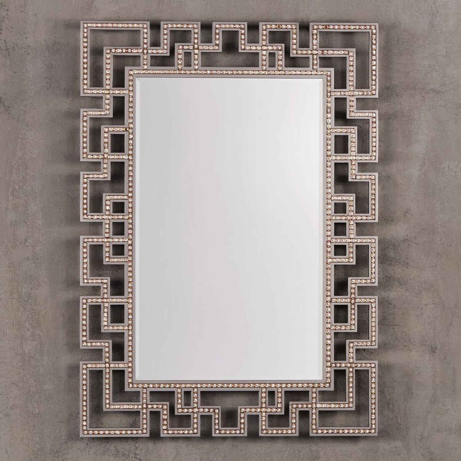 Key picture frame choice image craft decoration ideas marlowe greek key frame accent wall mirror free shipping today marlowe greek key frame accent wall jeuxipadfo Choice Image