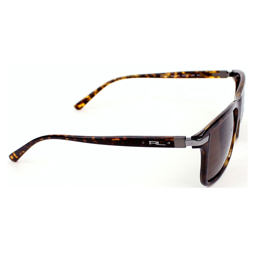 1d384e680a7 Shop Polo Ralph Lauren Men s PH4084 Plastic Rectangle Sunglasses - Tortoise  - Large - Free Shipping Today - Overstock - 10442230