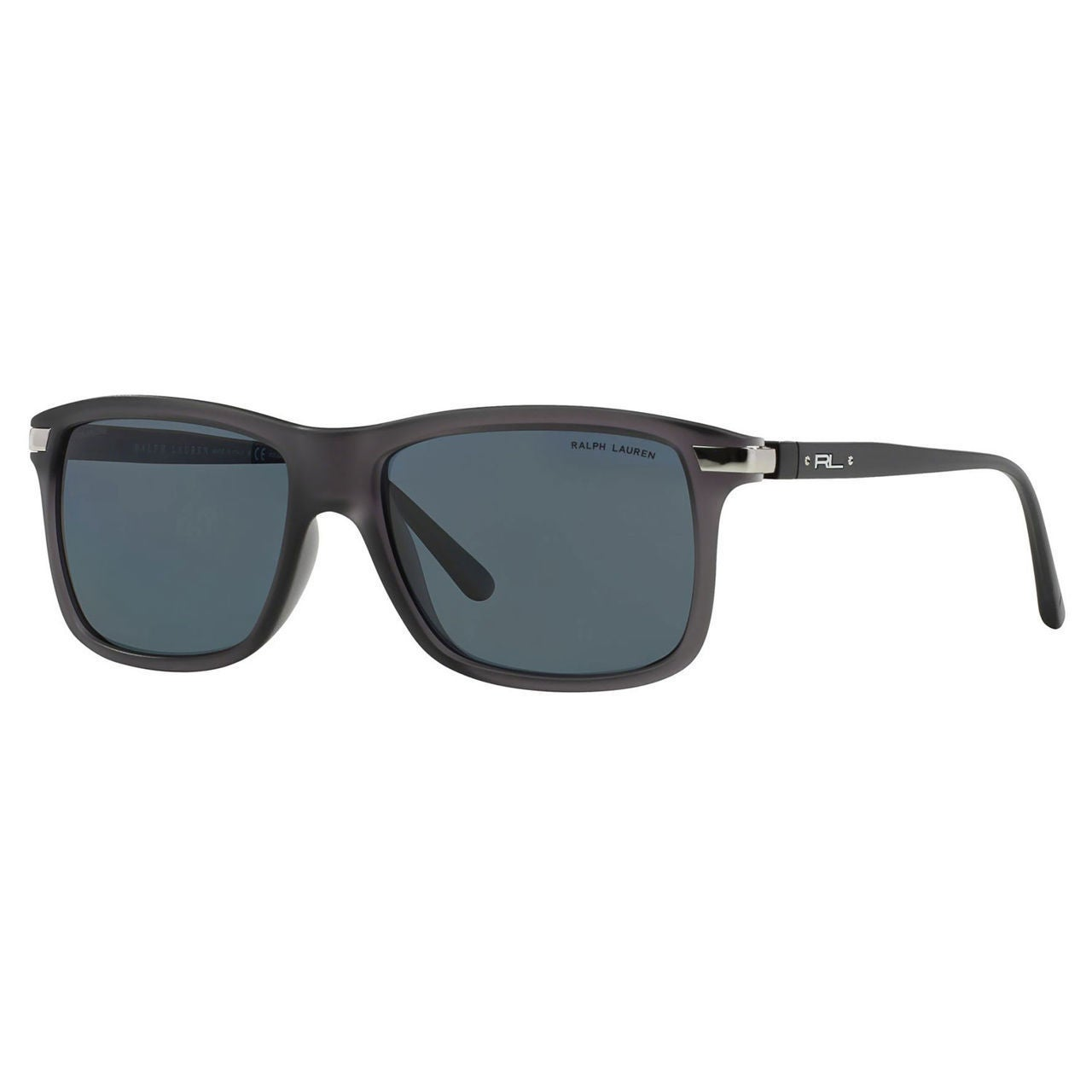 0ec8d875ead Shop Polo Ralph Lauren Men s PH4084 Plastic Rectangle Polarized Sunglasses  - Grey - Large - Free Shipping Today - Overstock.com - 10442231
