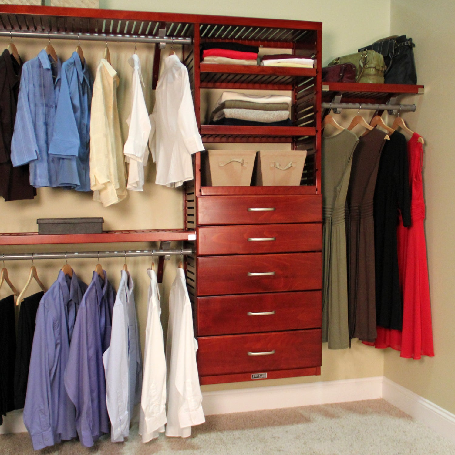 white system closet organizer with drawers canada s organizers target
