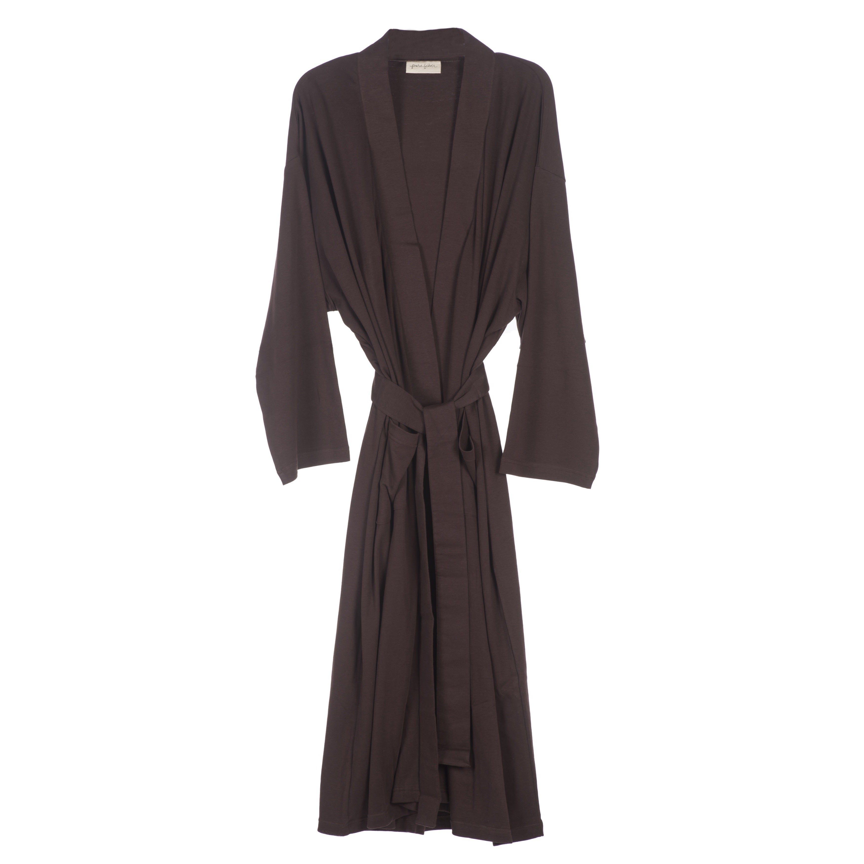 Shop Organic Cotton Jersey Knit Bath Robe - On Sale - Free Shipping Today -  Overstock - 10453926 a613eb235