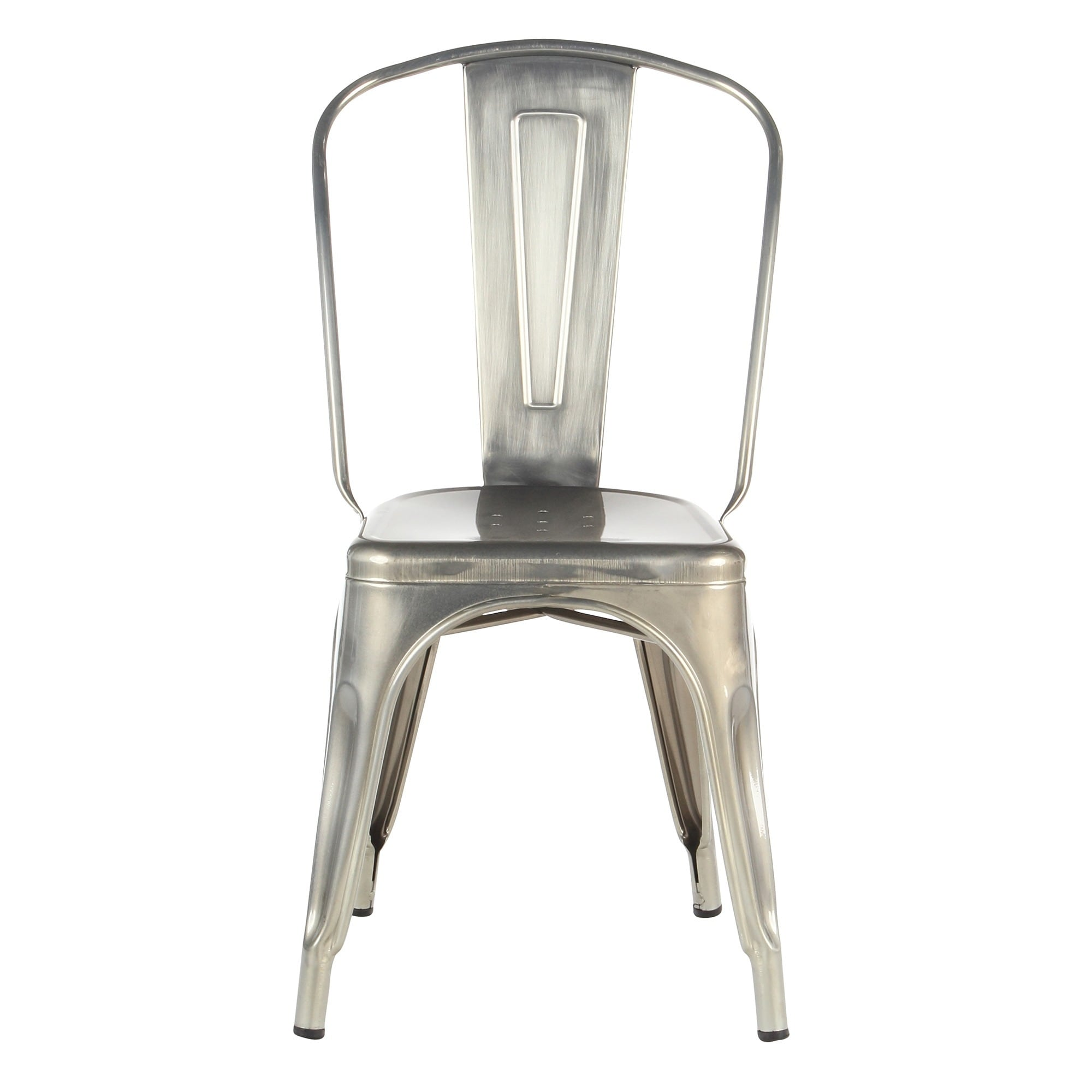 shop industrial metal cafe dining chair on sale free shipping