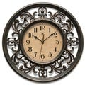 Laurel Creek Kenton 12-inch Round Clock