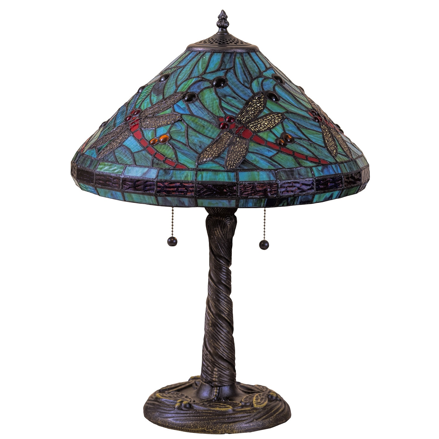 glass lamps traditional living floor turquoise for room control touch unique lamp table