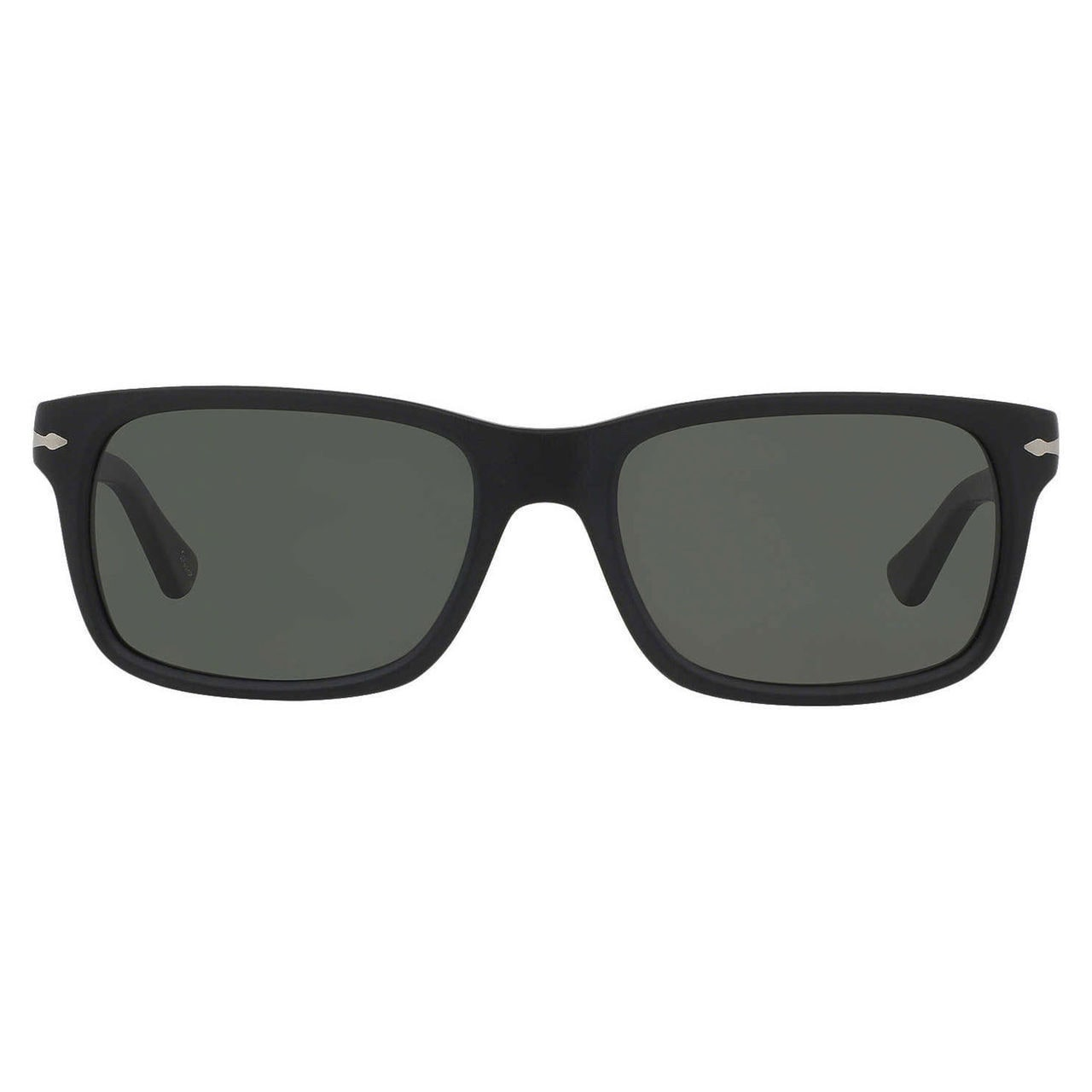 b6a449bb3c Shop Persol Men s PO3048S Plastic Rectangle Polarized Sunglasses - Black -  Large - Free Shipping Today - Overstock - 10456382