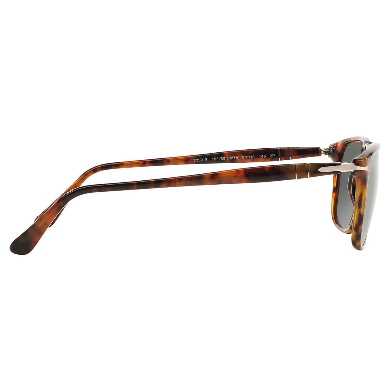 bbef6a75f7 Shop Persol Men s PO3059S Plastic Square Polarized Sunglasses - Large -  Free Shipping Today - Overstock - 10456416