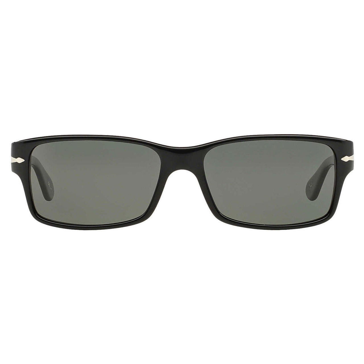 ca1087f421 Shop Persol Men s PO2803S Plastic Rectangle Polarized Sunglasses - Black -  Large - Free Shipping Today - Overstock - 10456797