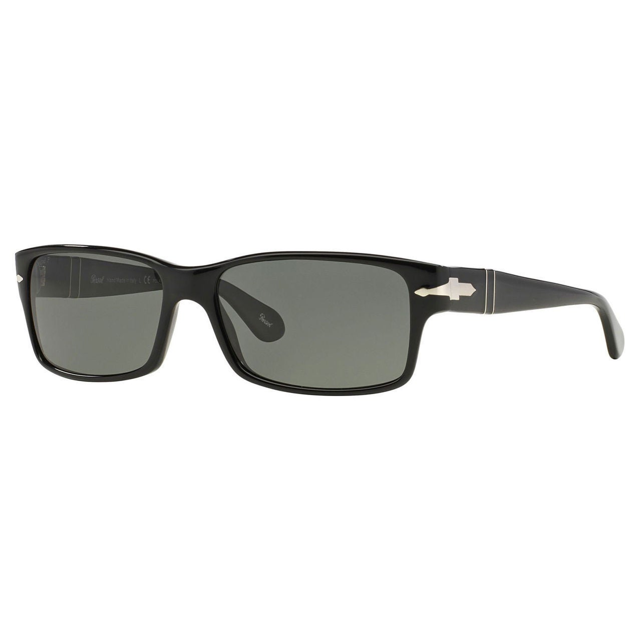 ad842a9a61f7 Shop Persol Men's PO2803S Plastic Rectangle Polarized Sunglasses - Black -  Large - Ships To Canada - Overstock - 10456797
