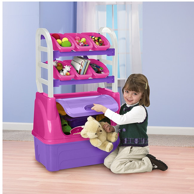 shop american plastic toys girl s toy organizer free shipping on