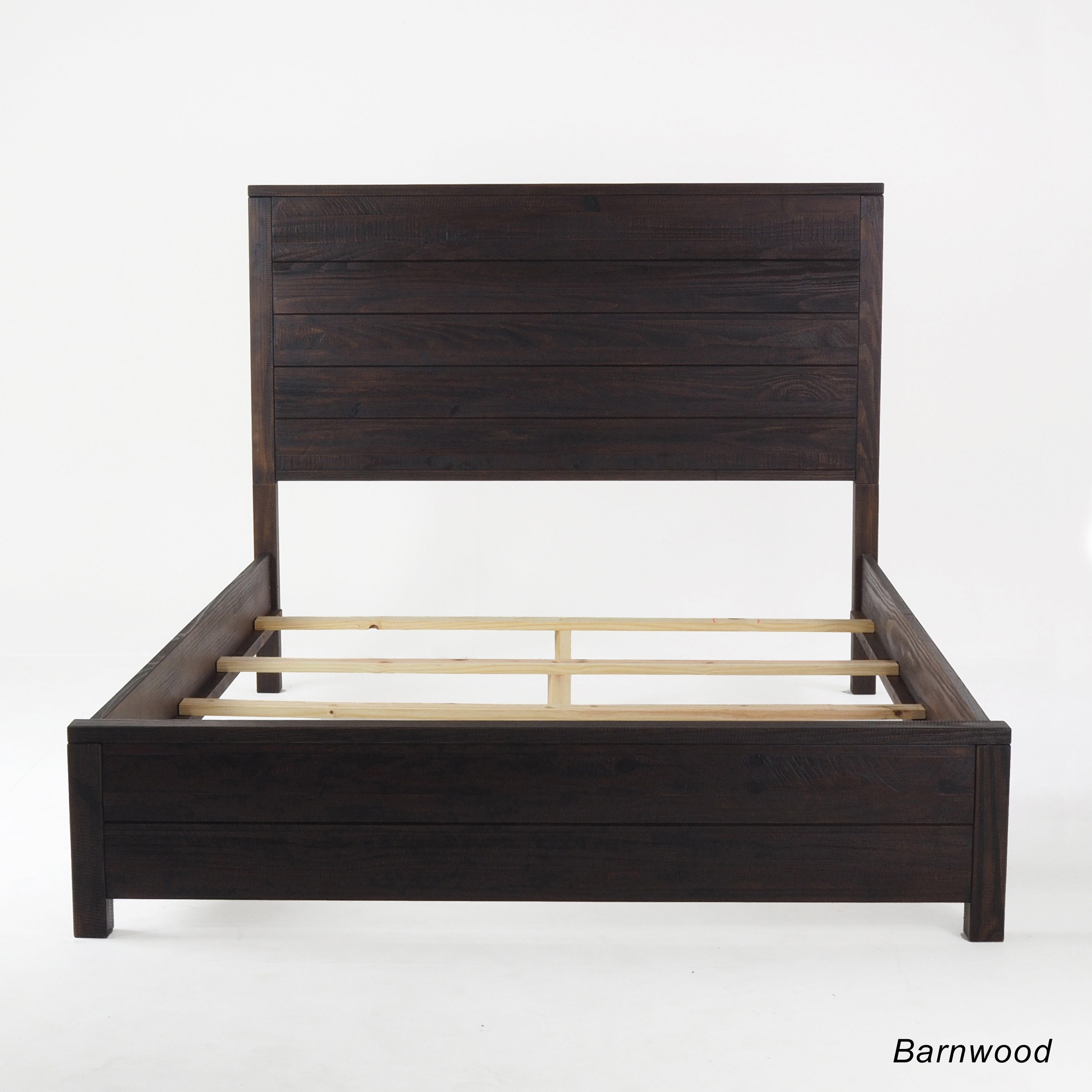 High Quality Grain Wood Furniture Montauk Queen Solid Wood Panel Bed   Free Shipping  Today   Overstock   17551717