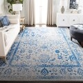 Safavieh Adirondack Vintage Distressed Grey / Blue Large Area Rug (12' x 18')