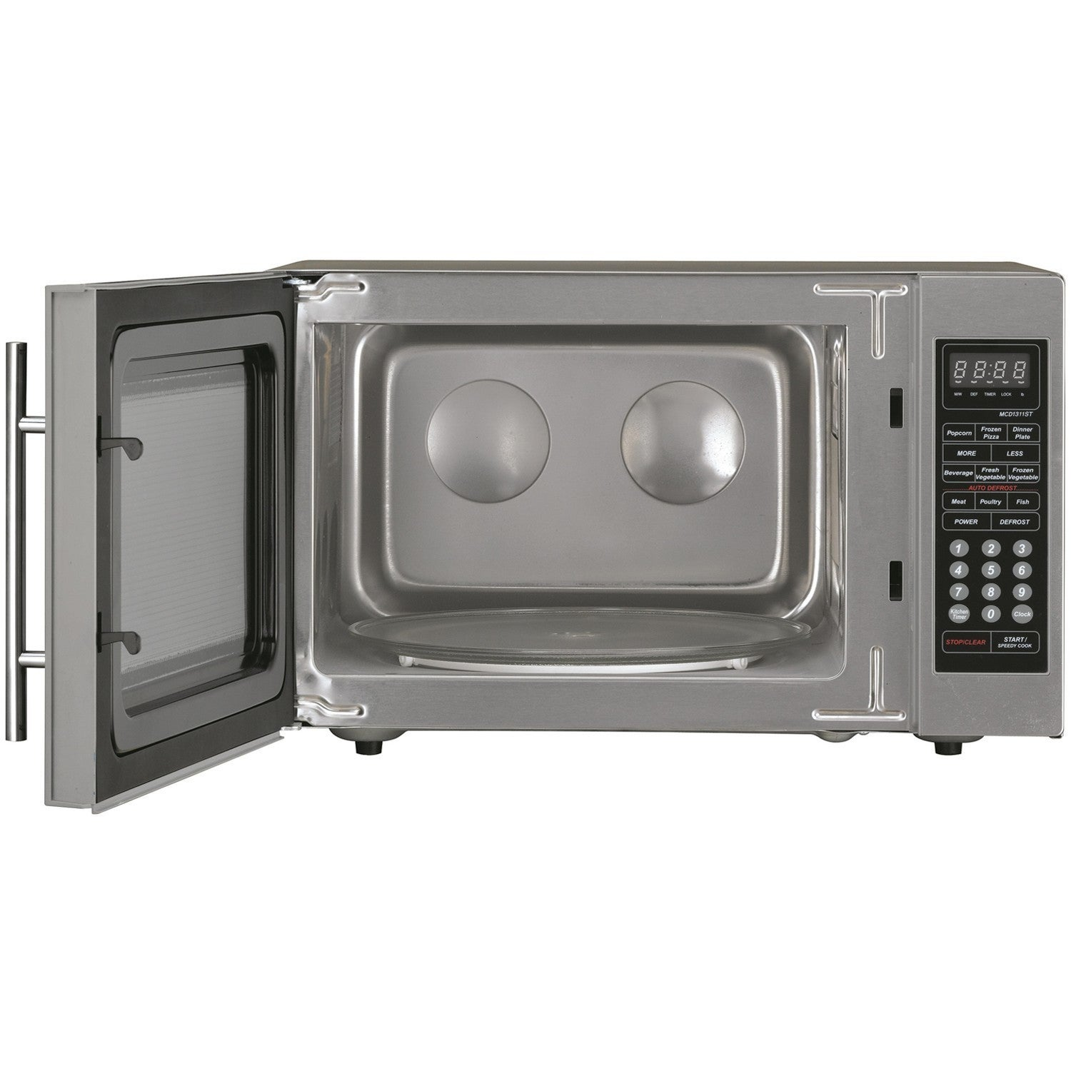 Magic Chef Mcd1311st 1 3 Cu Ft Countertop Microwave Oven Free Shipping Today 17557994