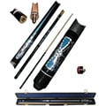 Blue Majestic Designer Pool Stick