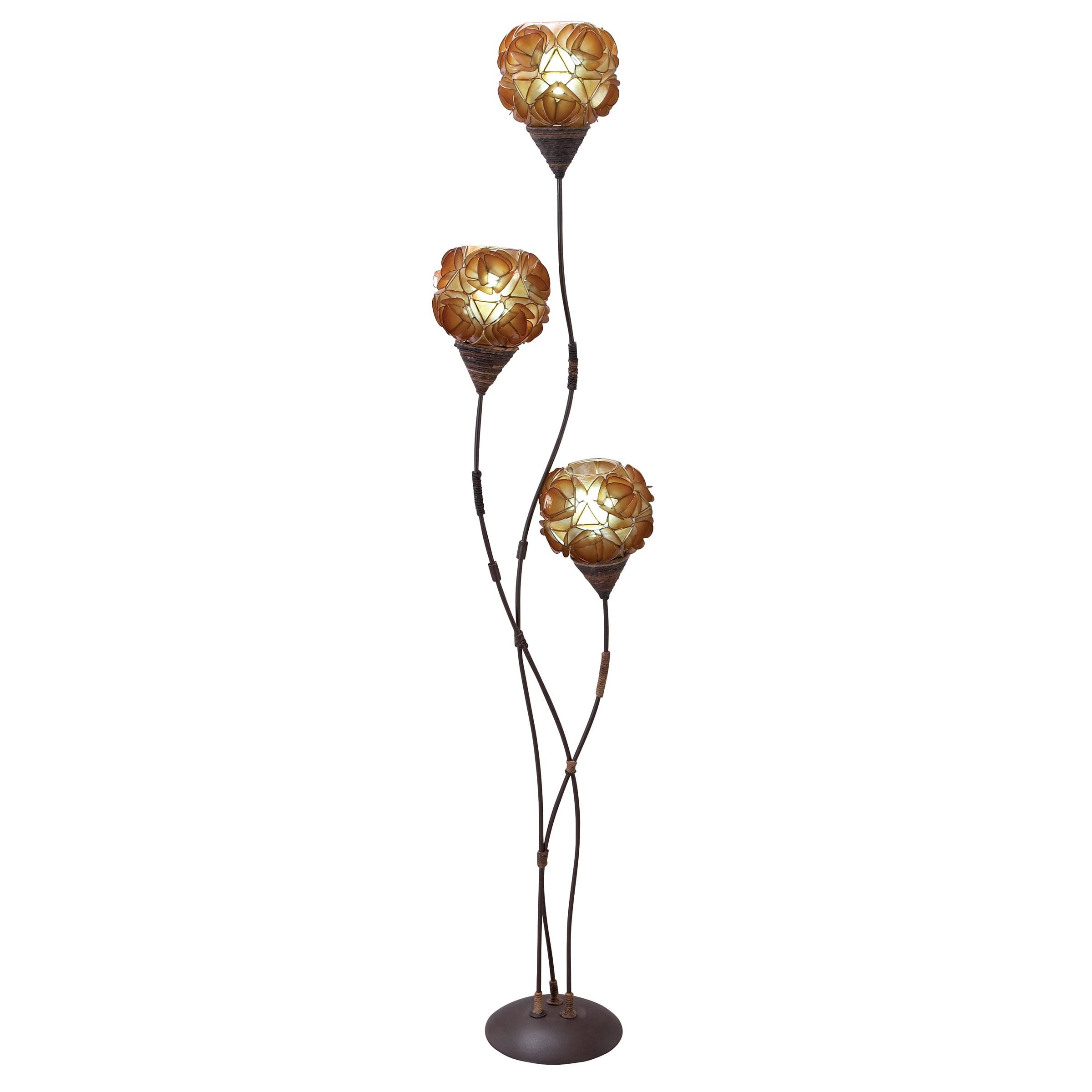 wide cfm pendant lighting in glass floor finish light lamp and large shown capiz champagne inch leaf corbett shell floors item dolce