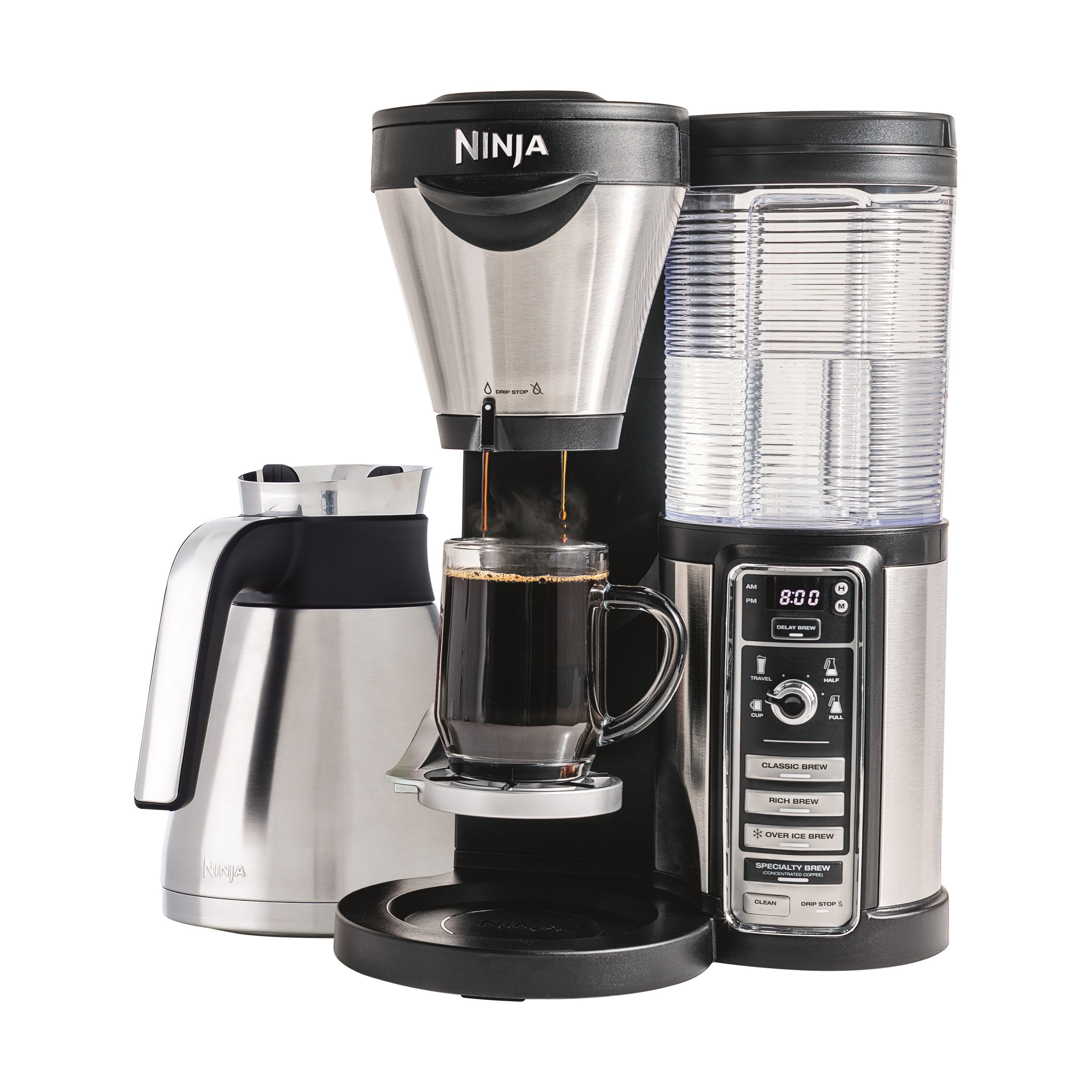 Shop Ninja Cf086 Coffee Bar Brewer With Milk Frother Free Shipping