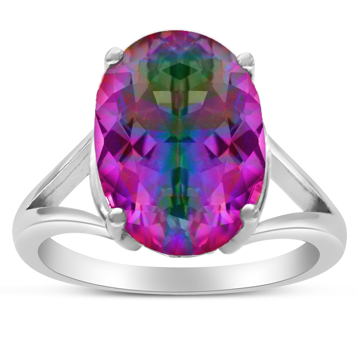 cut ring image gemstone cluster white gold oval jewellery rings amethyst diamond purple