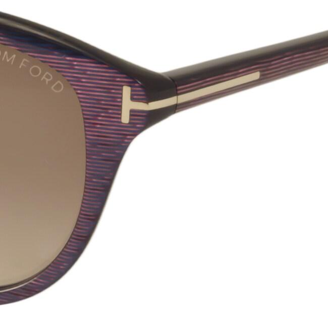 ee30d0e06f Shop Tom Ford Women s TF329 Karmen Rectangular Sunglasses - Free Shipping  Today - Overstock - 10473906