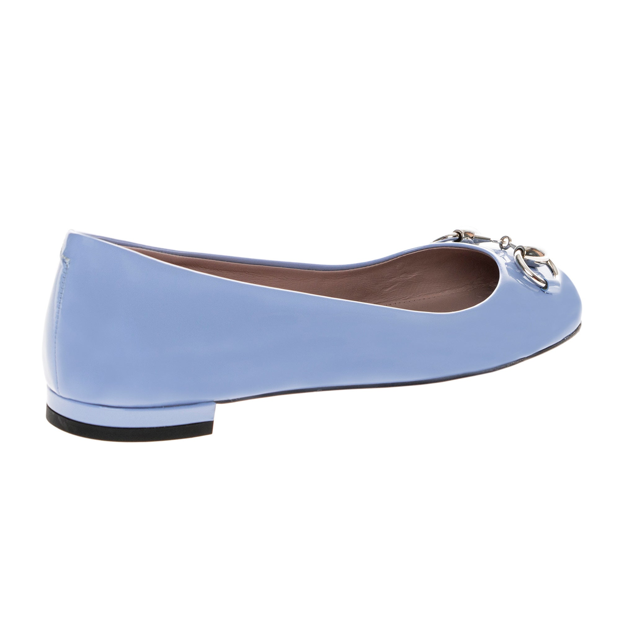 9468db6b9598 Shop Gucci Jolene Patent Leather Flats - Free Shipping Today - Overstock -  10476456