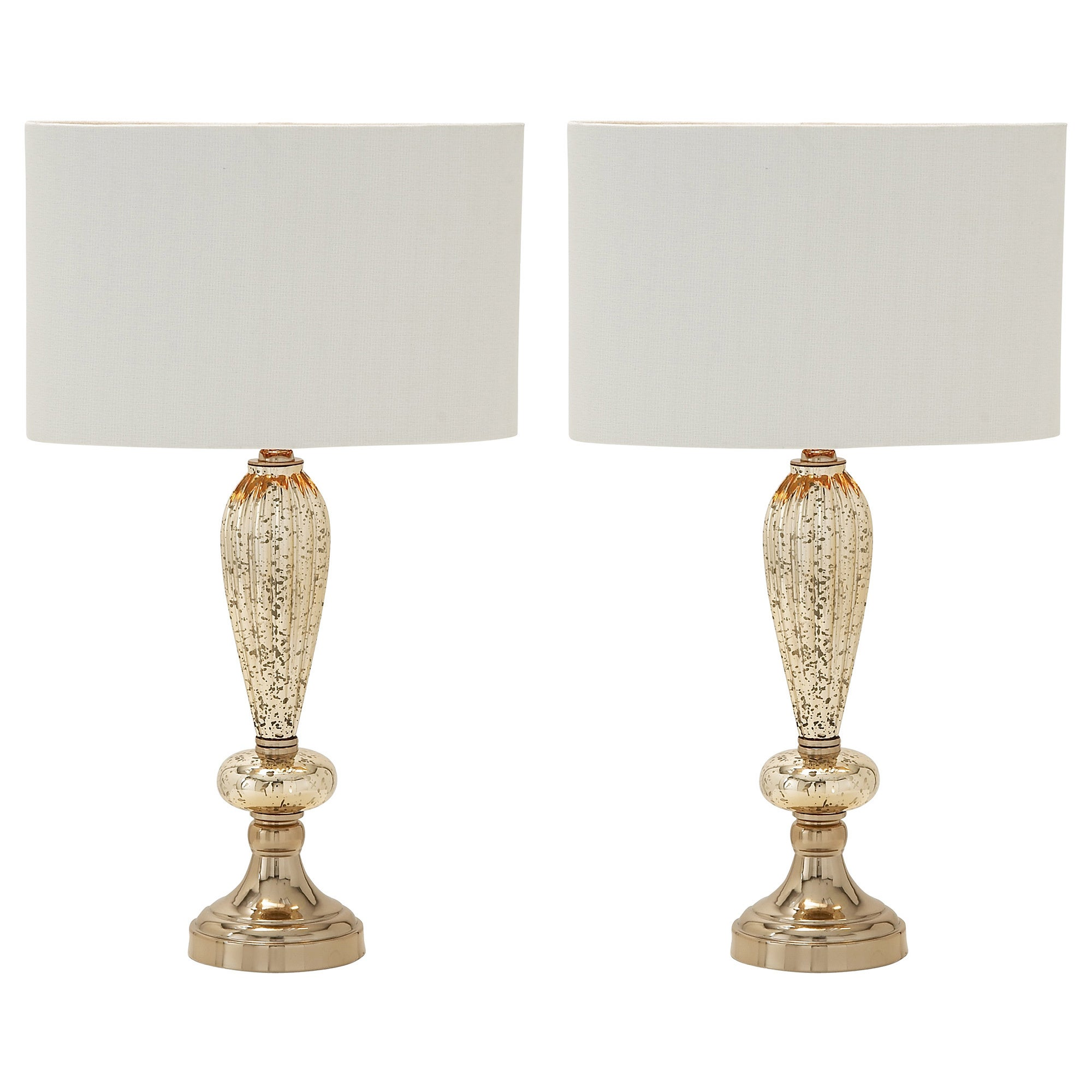 Exceptional Shop Carmel Collection Oval Glass Table Lamps (Set Of 2)   Free Shipping  Today   Overstock.com   10477582