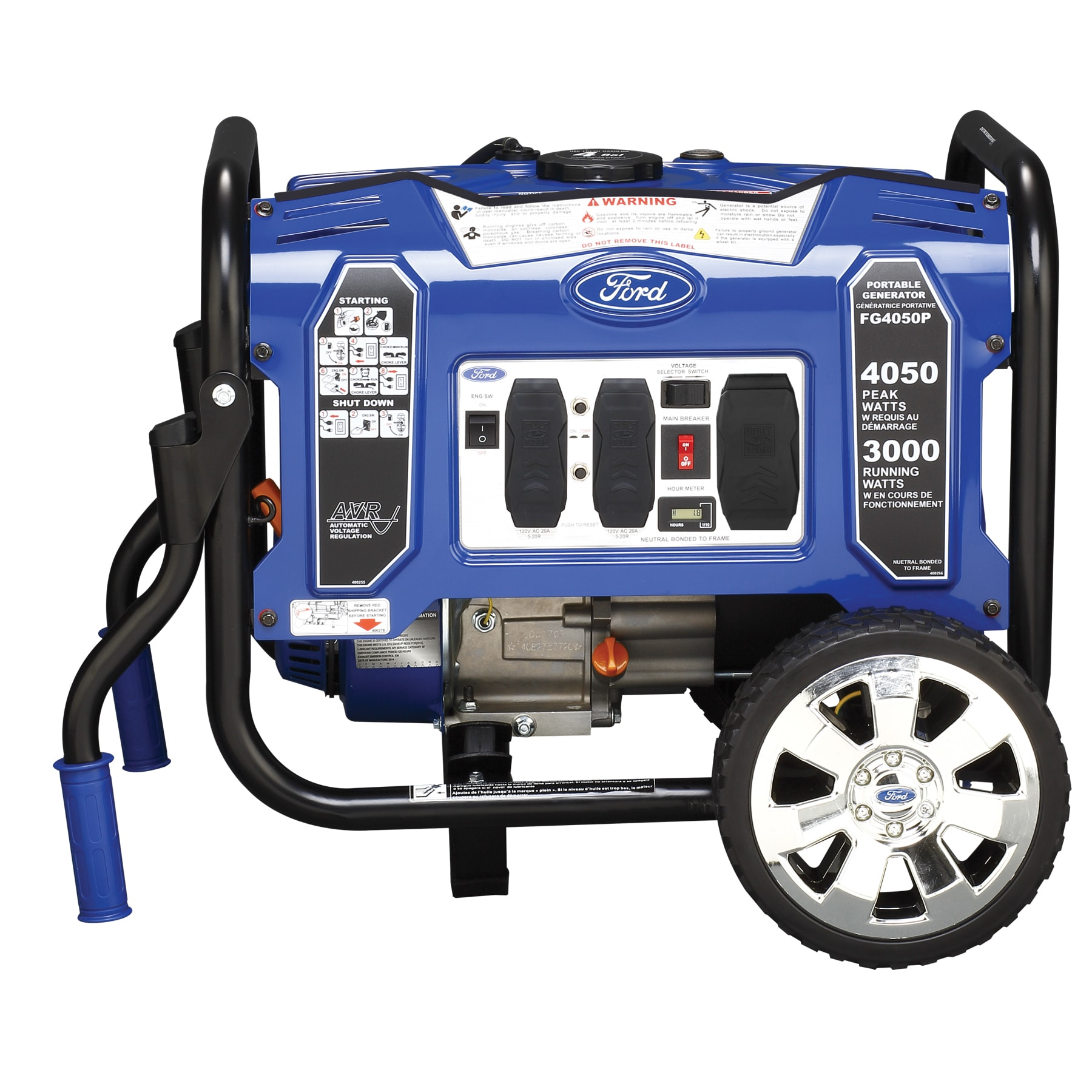 Ford 4050 watt Portable Generator Free Shipping Today