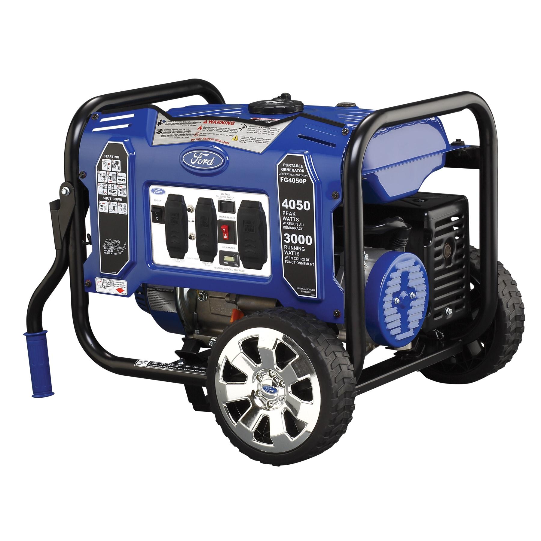 Ford 4050 watt Portable Generator Free Shipping Today