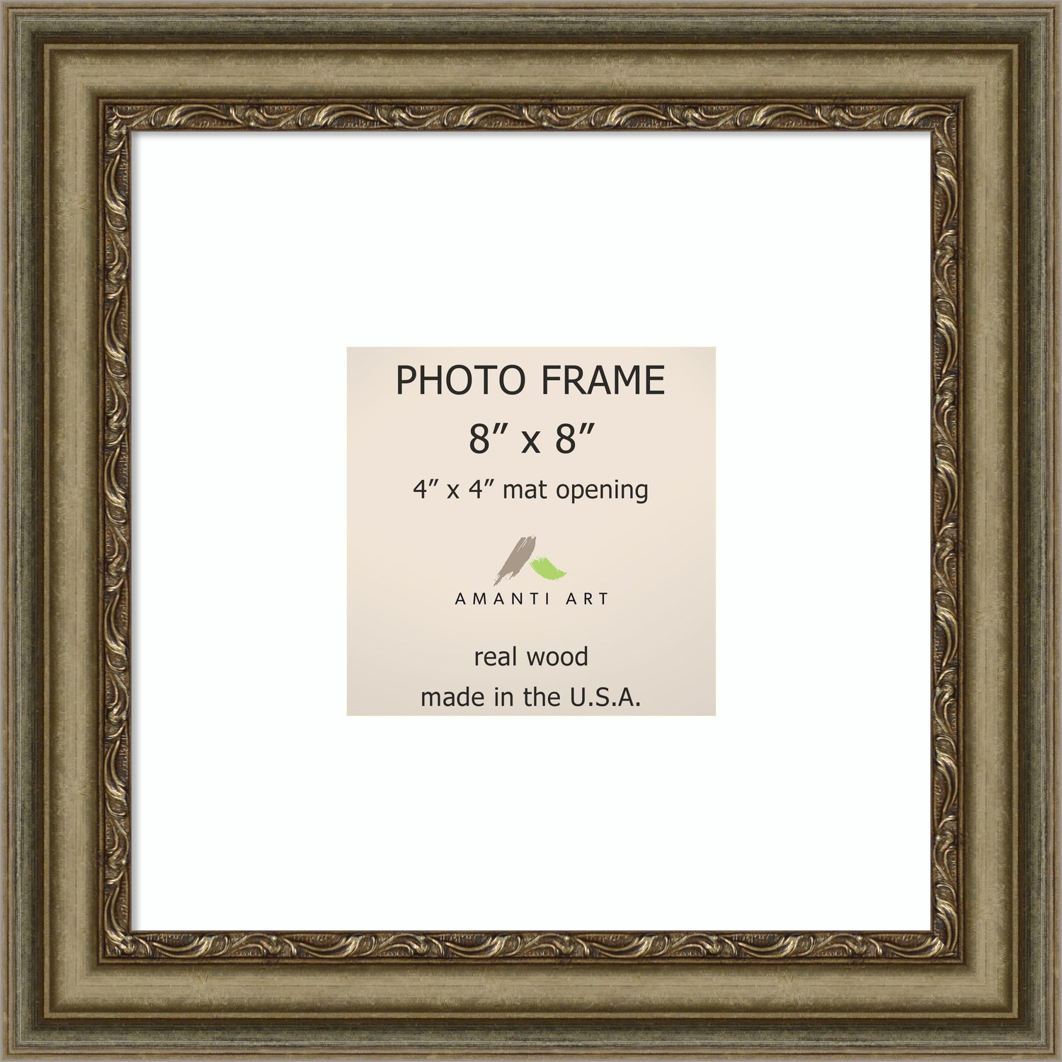 Shop Boheme Silver Photo Frame 10 x 10-inch - Free Shipping Today ...