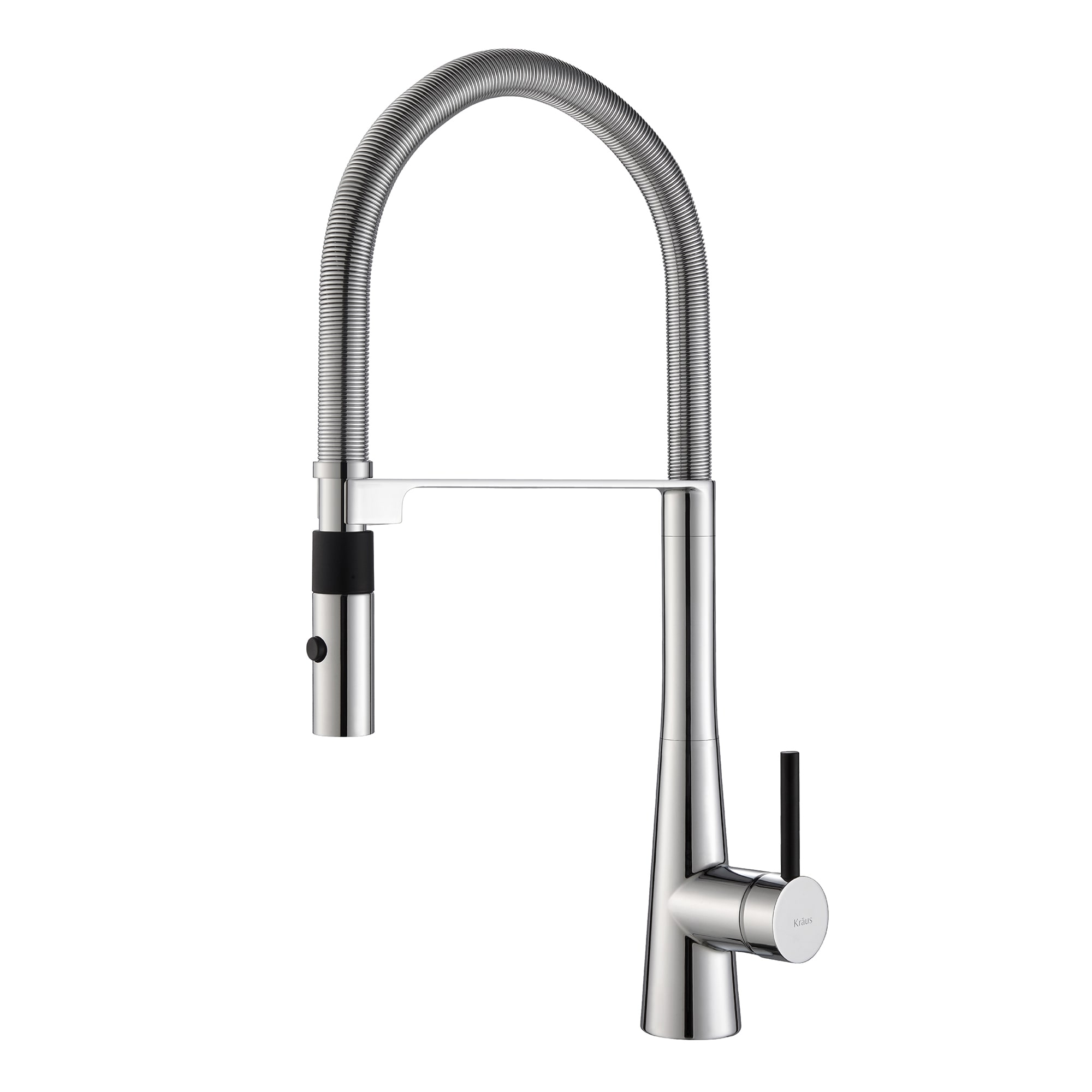 in single finish ip stainless faucet down chrome sprayhead pull handle kitchen inch kraus bolden function com dual steel commercial sprayer walmart with