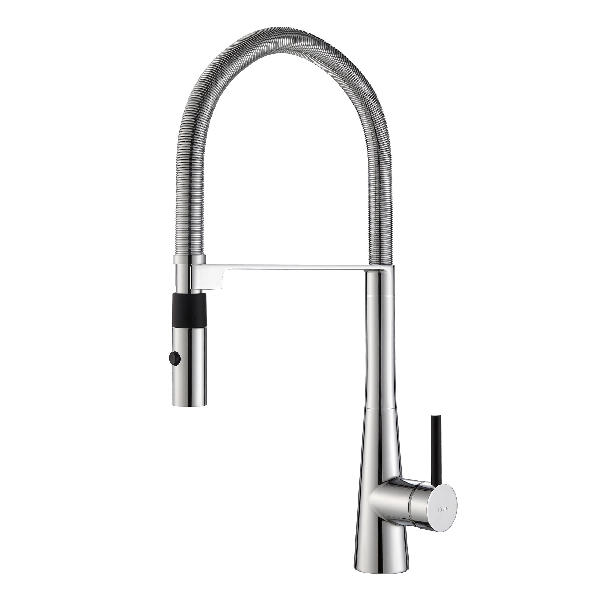 overstock down today sprayer with commercial style shipping pull home kitchen function product three single handle faucet free kraus garden
