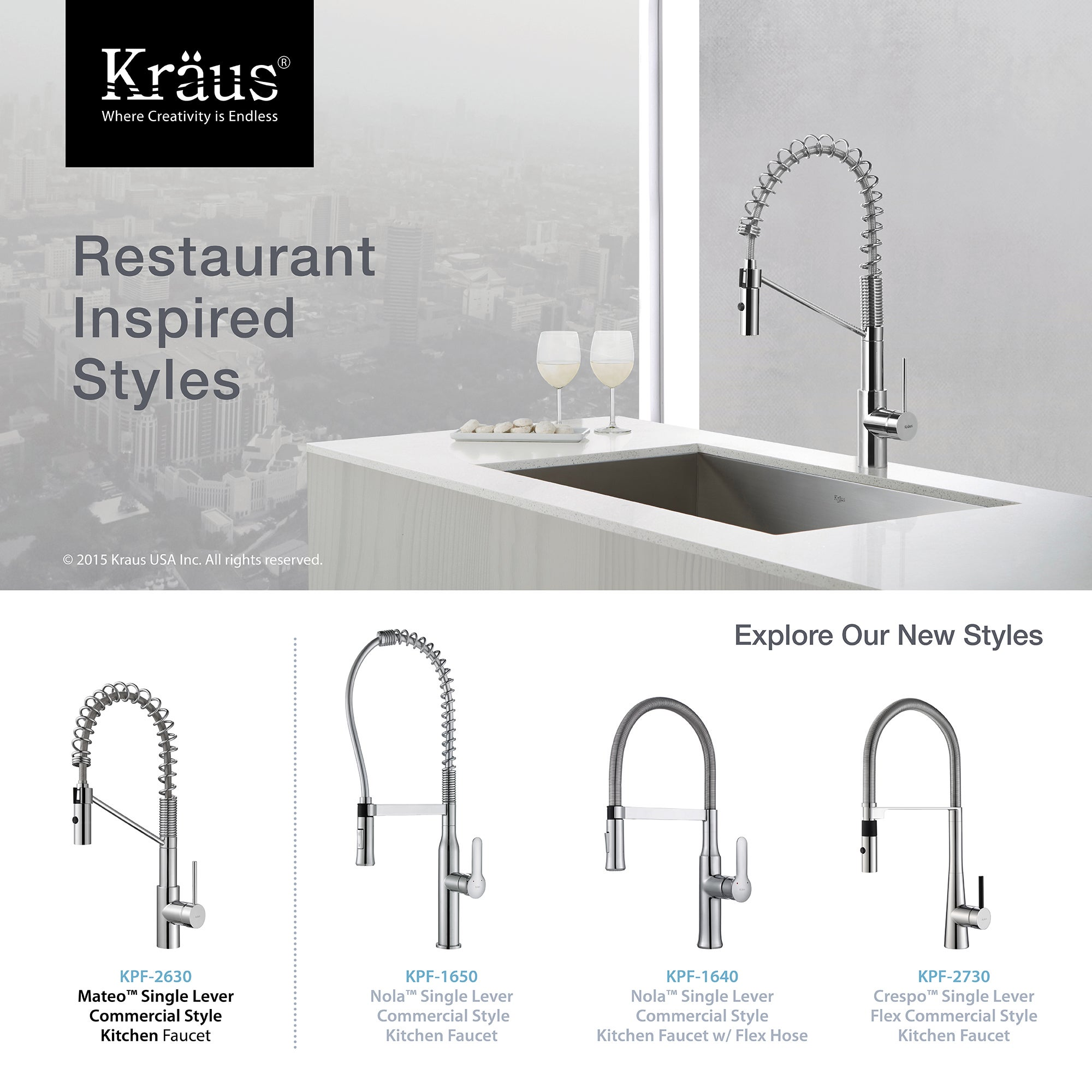 out down set faucet kpf commercial with dispenser single rinse pre lever style ksd soap com and pull kitchen kraususa handle sprayer kraus