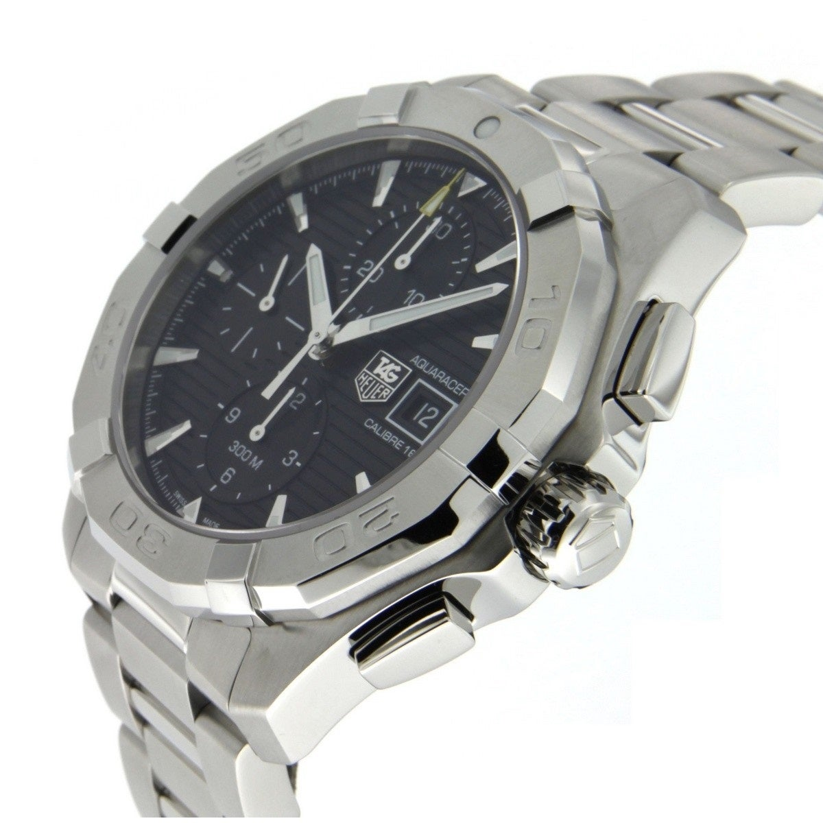 meet 1a381 69460 Tag Heuer Men's CAY2110.BA0925 'Aquaracer' Chronograph Automatic Stainless  Steel Watch