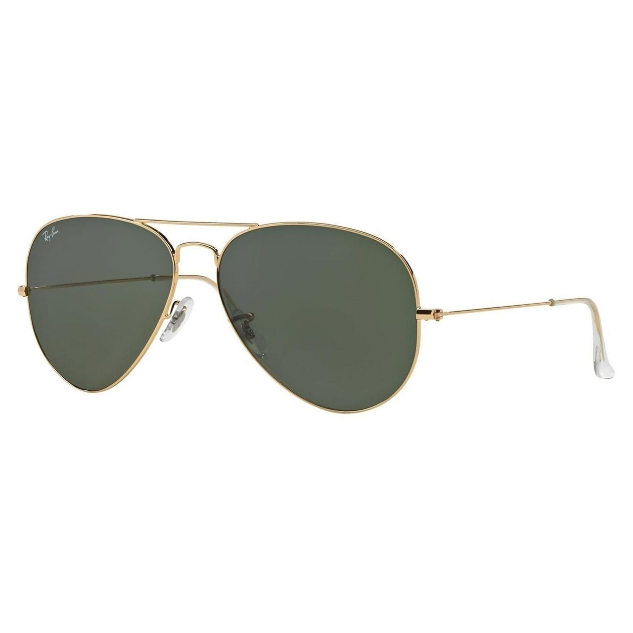 9cef7dac478 Shop Ray-Ban Aviator Classic RB3025 Unisex Gold Frame Green Lens Sunglasses  - Free Shipping Today - Overstock.com - 10482576