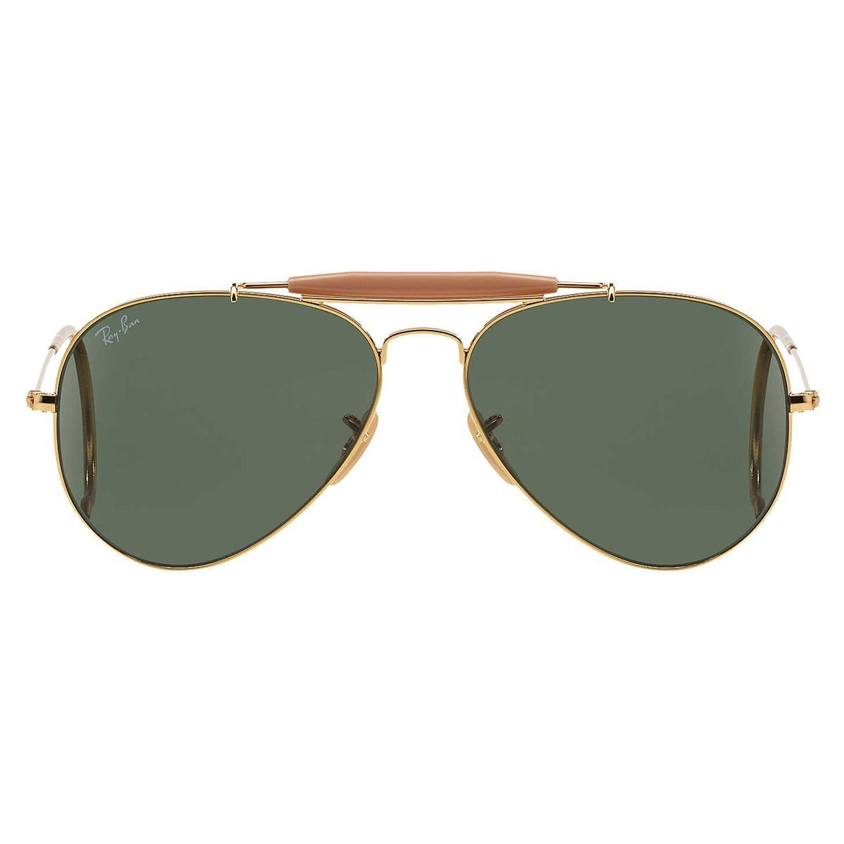 fd7c3bacf4 Shop Ray-Ban Men s RB3030 Gold Metal Pilot Sunglasses - Free Shipping Today  - Overstock.com - 10482609