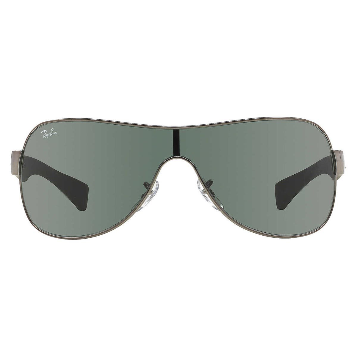 69381a76aff Shop Ray-Ban RB3471 Sunglasses Gunmetal   Black  Green Classic 32mm - Black  - Free Shipping Today - Overstock.com - 10482690