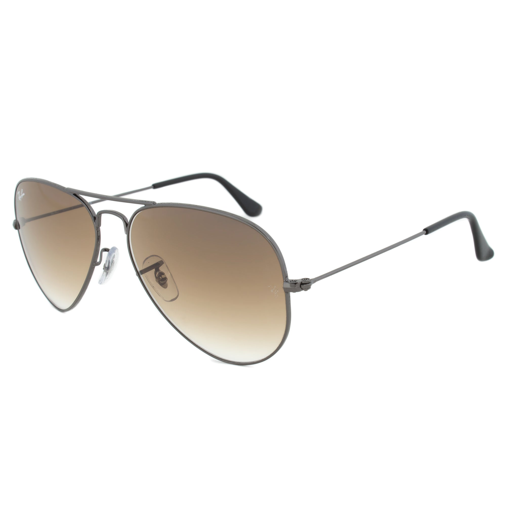 bca939b72c Shop Ray-Ban RB3025 004/51 Size 58 Brown Gradient Lens Gunmetal Frame  Aviator Sunglasses - Free Shipping Today - Overstock - 10482707