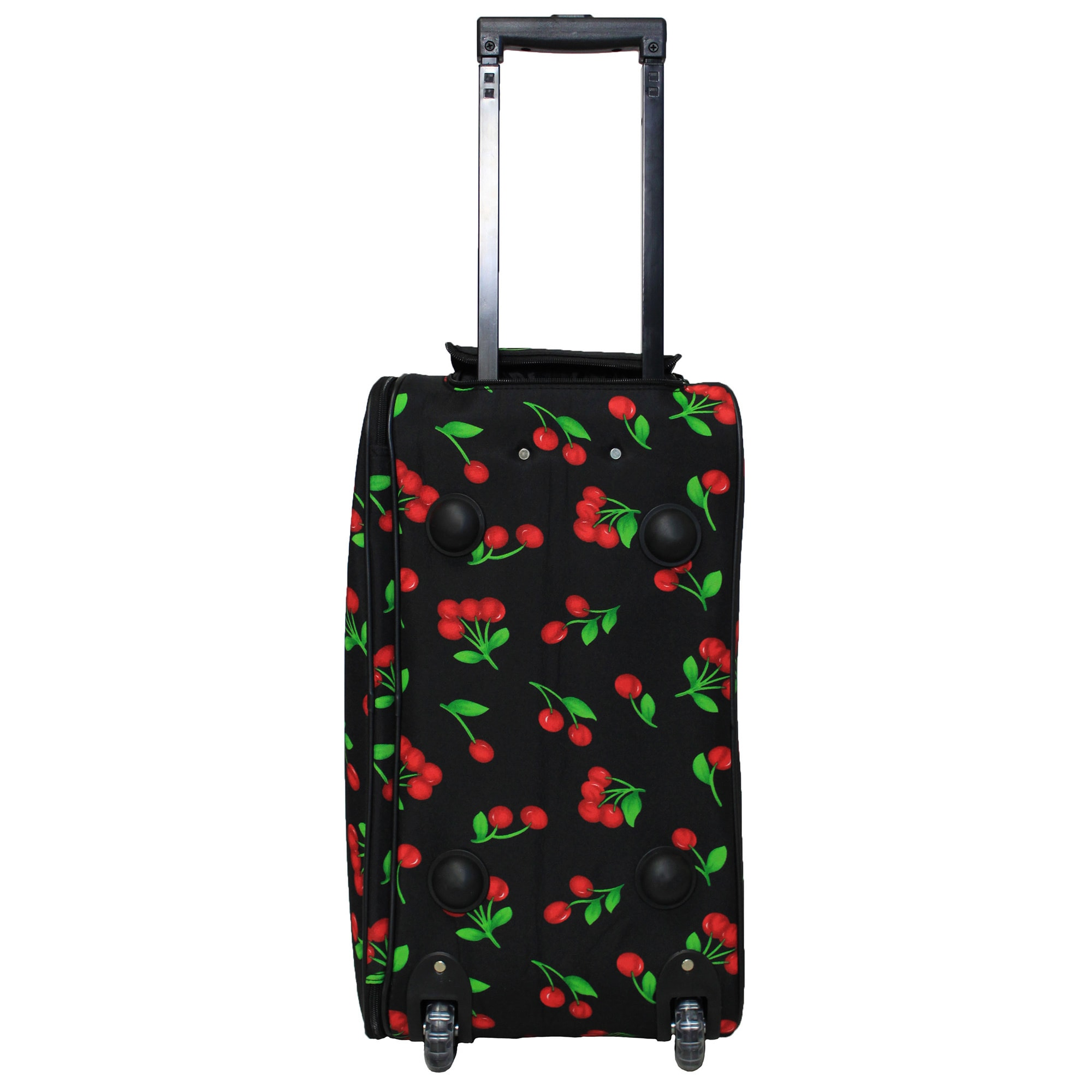 eb2e67a991cf Shop World Traveler Cherry 21-inch Carry-on Rolling Duffle Bag - Free  Shipping Today - Overstock - 10485101