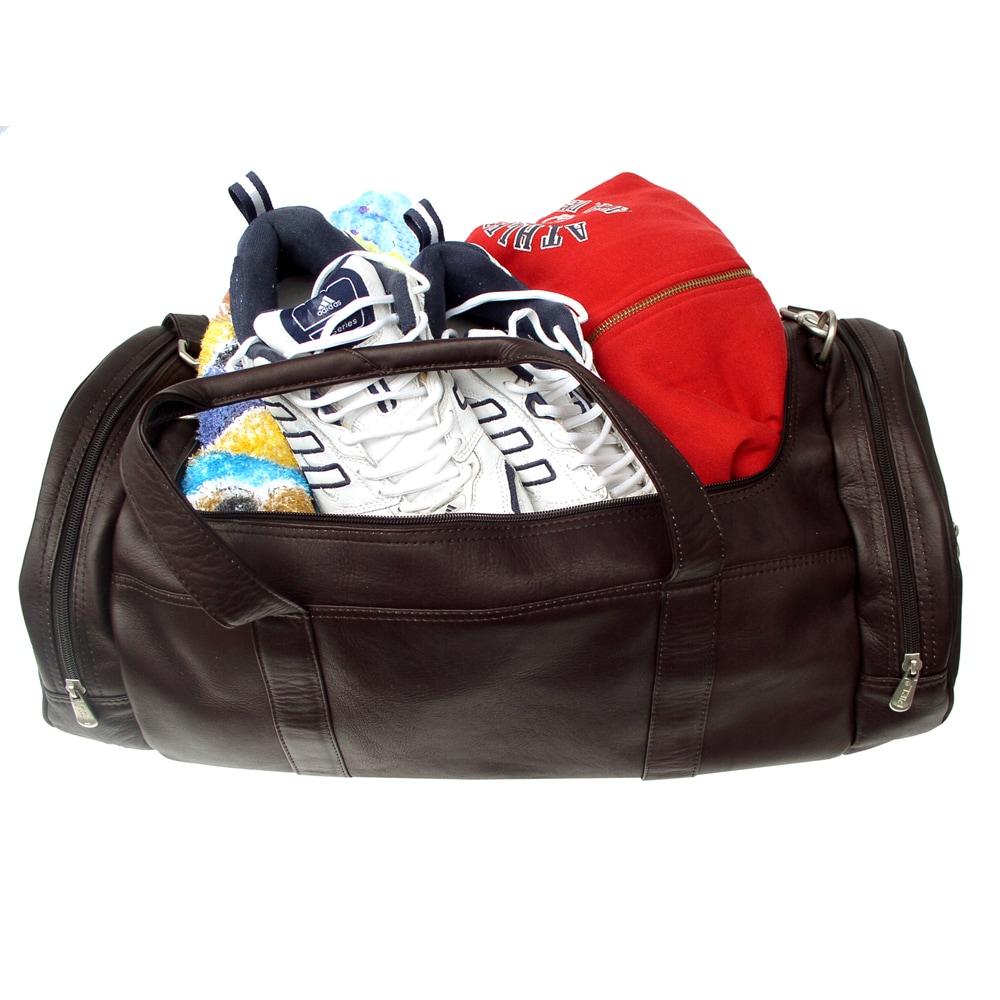 Piel Colombian Leather Gym Bag