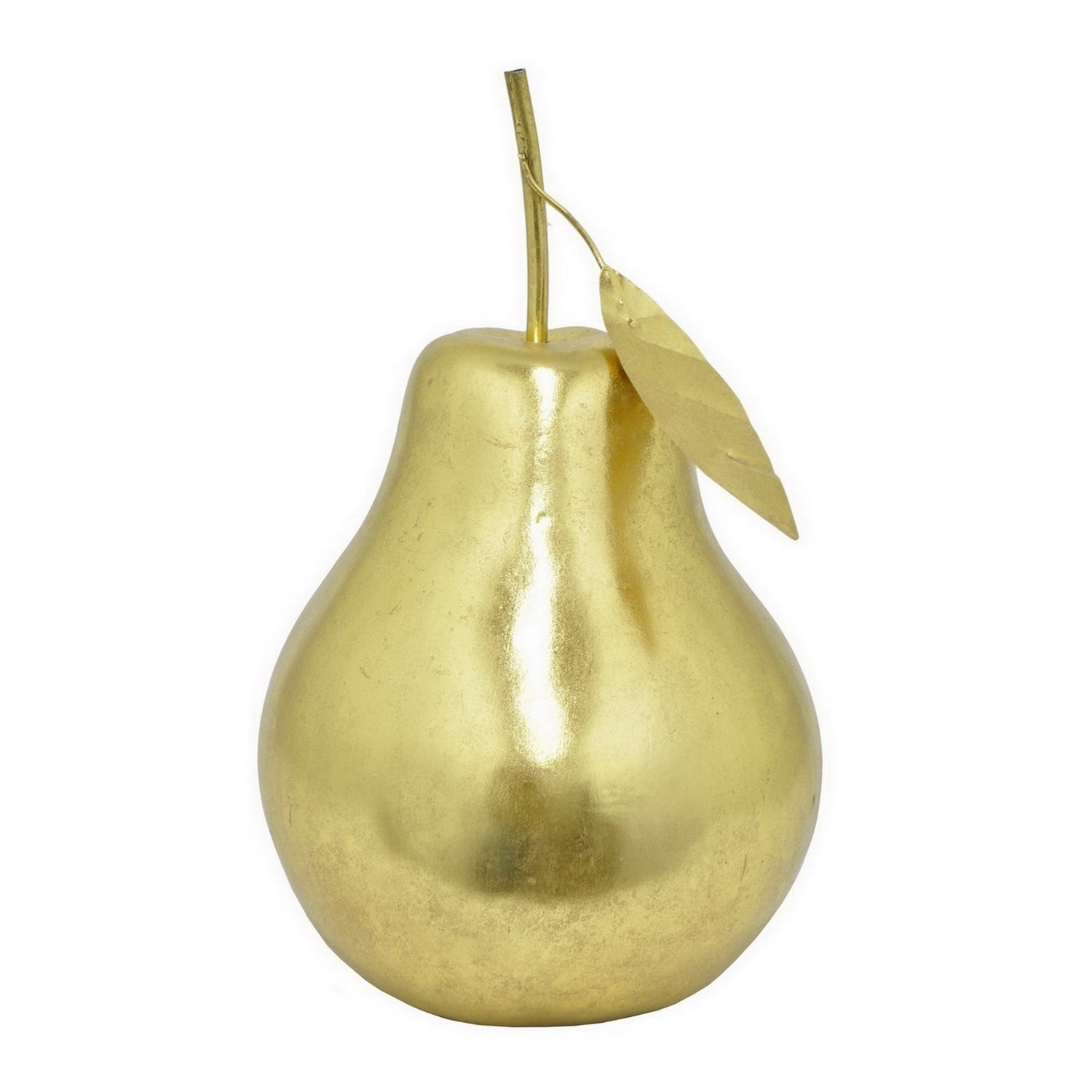 Three Hands Decorative Gold Resin Pear - Free Shipping Today ...