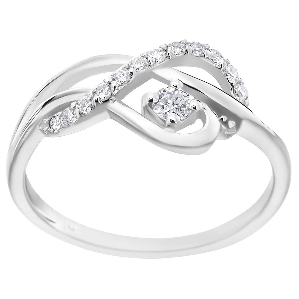 Treble clef wedding ring