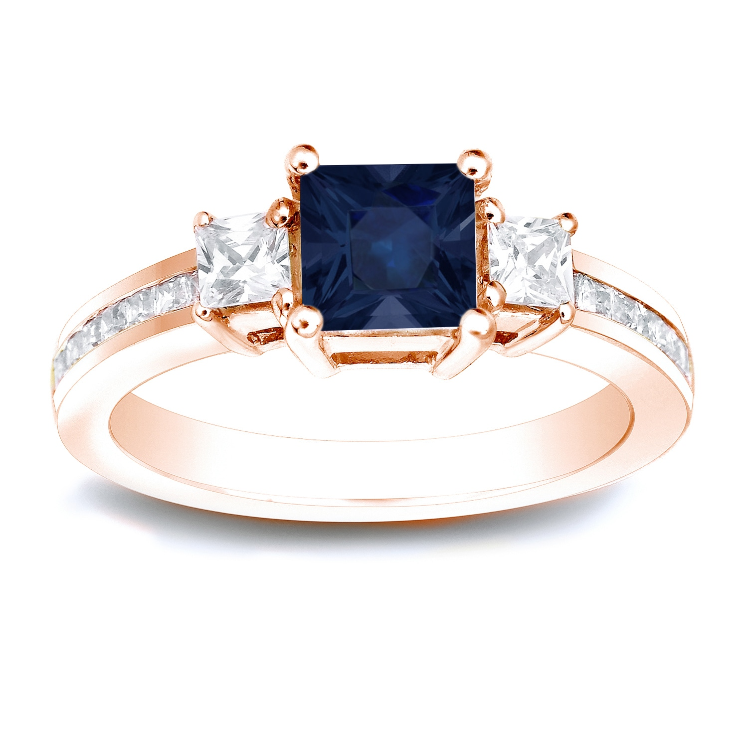 delicate nature sapphire home gold blue shiny adr nr product ring