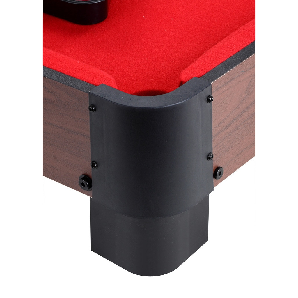 Shop Striker In Table Top Pool Table Red Free Shipping Today - Red top pool table
