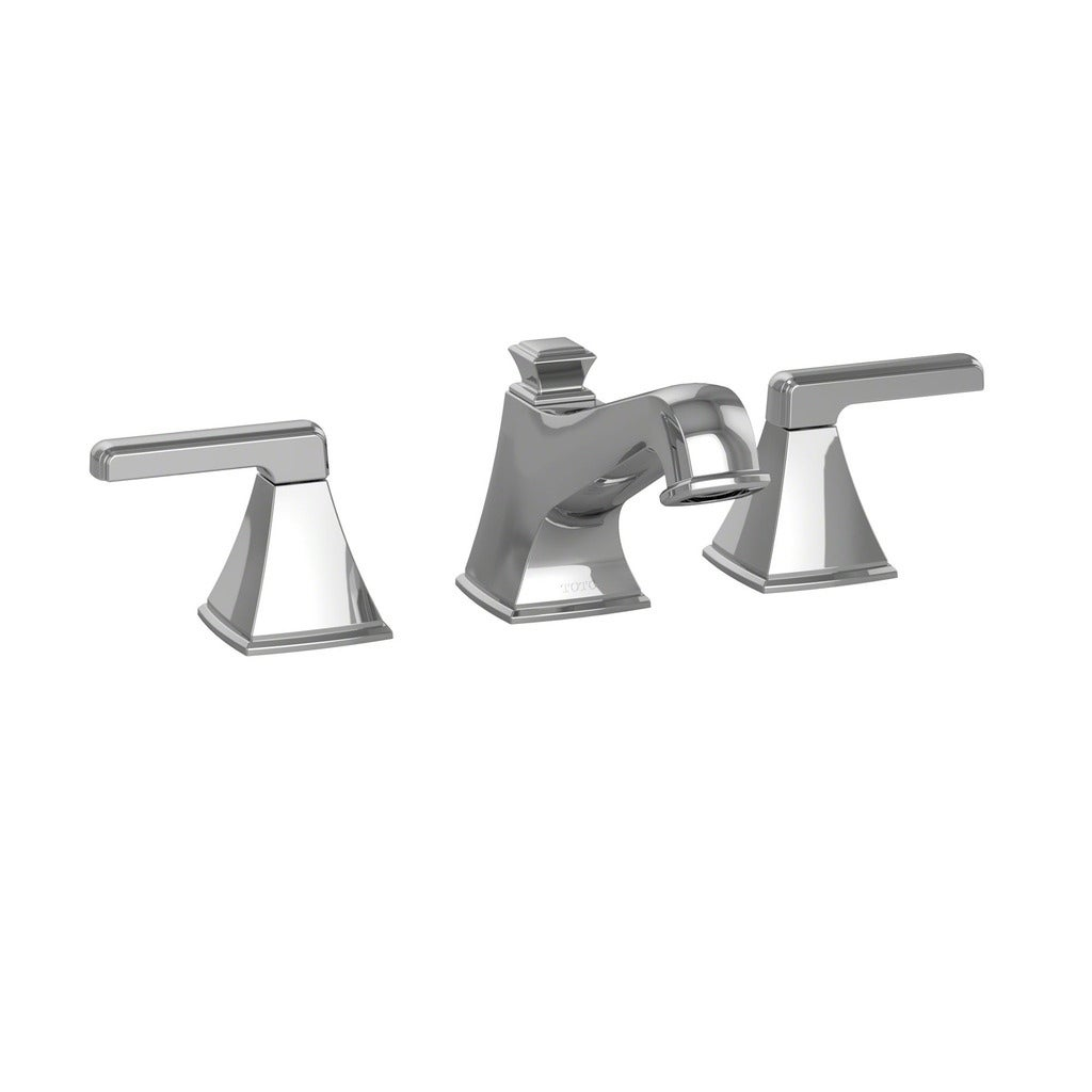 Shop Toto Connelly Two Handle Widespread 1.5 GPM Bathroom Sink ...