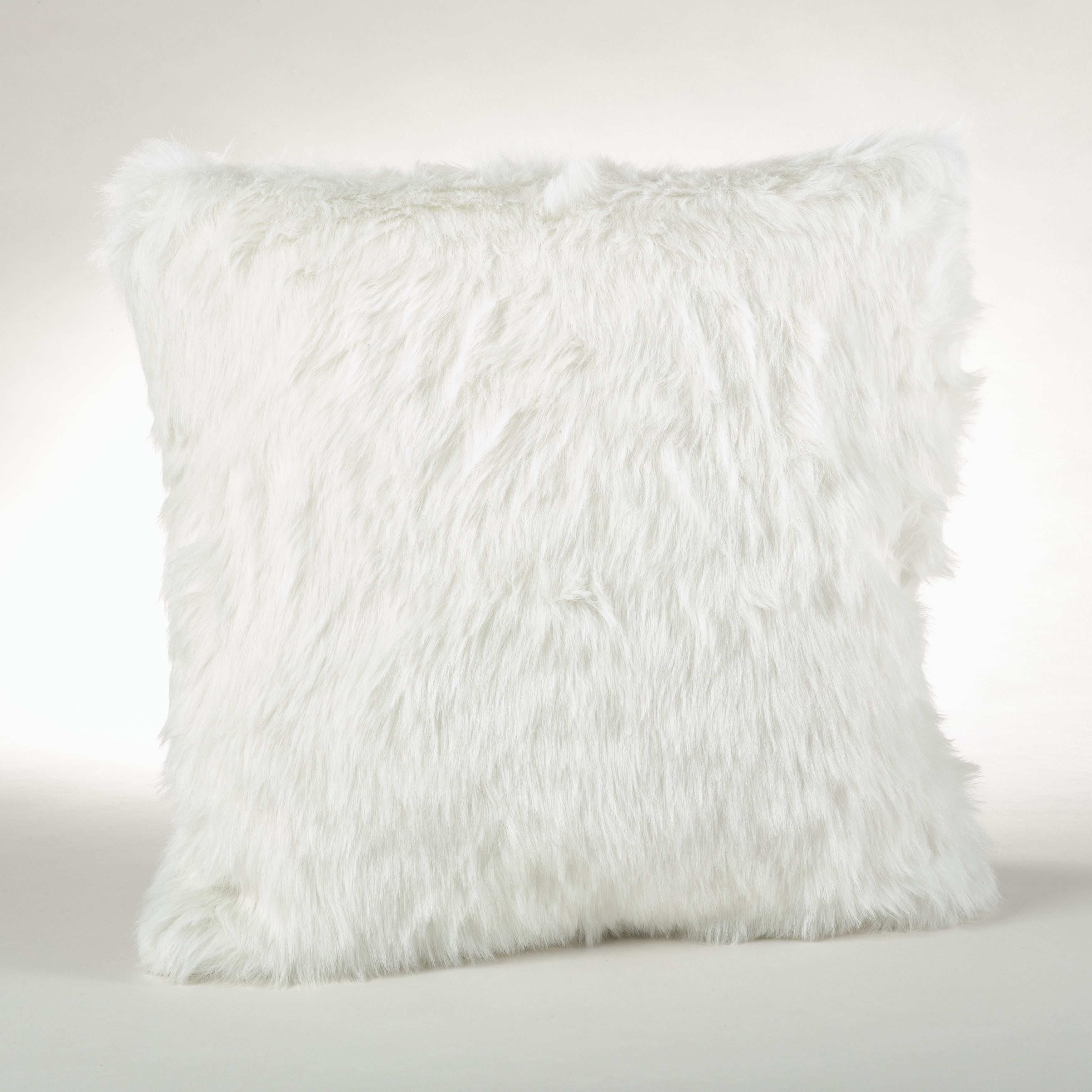 throw fur white top pillow shag by with faux pillows habitationboheme cover